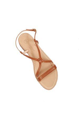 Brown Capri sandals classic not flip-flops model  Da Costanzo   5032256   2606MARRONE