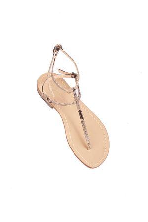 Flip flop beige sandals Da Costanzo | 5032256 | 2609BEIGE