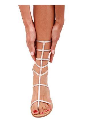 Sandali gladiatore argento Da Costanzo | 5032256 | 2611/BR5ARGENTO