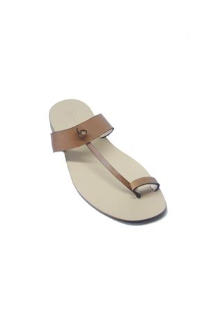 Handmade Capri sandals for men Da Costanzo | 5032256 | DITO FASCIAMARRONE