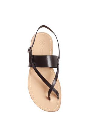 Sandali capresi da uomo neri Da Costanzo | 5032256 | DITO XNERO
