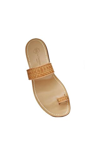 Handmade Capri sandals for men Da Costanzo | 5032256 | DITOINTRBEIGE
