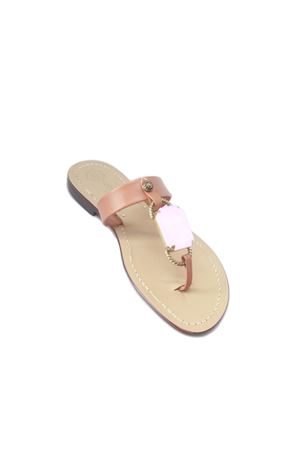 Handmade Capri Sandals Da Costanzo | 5032256 | FASCIA BIG STONEROSA