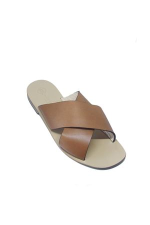 Handmade Capri sandals for men Da Costanzo | 5032256 | FASCIONIMARRONE