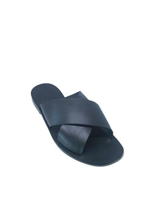Handmade Capri sandals for men Da Costanzo | 5032256 | FASCIONINERO