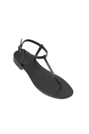 Black Capri sandals flipflop model Da Costanzo | 5032256 | S191818NERO