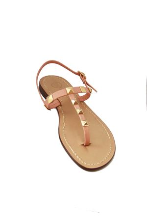 Capri Sandals with studs Da Costanzo | 5032256 | STUDSROSA