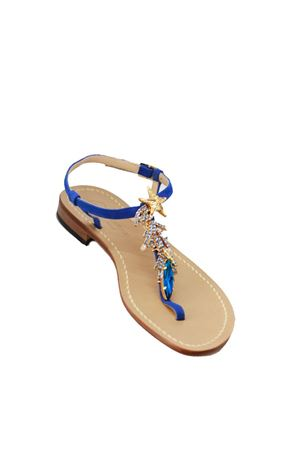 Handmade Sea Star Capri Sandals Da Costanzo | 5032256 | TSTARBLU