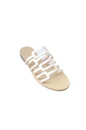 Capri leather sandals Da Costanzo | 5032256 | TV2672ORO