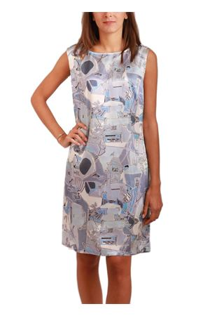 Pure silk dress Piazzetta of Capri Eco Capri | 5032262 | ABITO PIAZZETTAAZZURRO