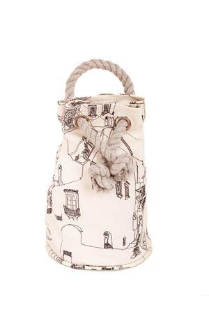Sac bag with Capri houses pattern Eco Capri | 31 | CAPRI BAG ECOCAPRI CASSETTE