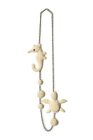 Handmade cotton necklace Eco Capri | 35 | COLLANA 3SEALIFE