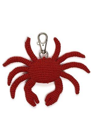 Handmade cotton keychain Crab Eco Capri | 65 | P.CHIAVI GRANCHIOGRANCHIO