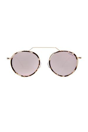 Wynwood Illesteva tartarugato bianco con lenti rosa flat Illesteva | 53 | WYNWOODMARRONE LENTE ROSA