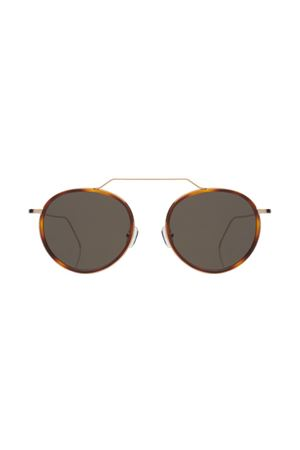 Illesteva Wynwood havana color with grey flat lenses Illesteva | 53 | WYNWOODMARRONE LENTI GREY