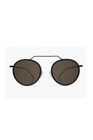 Wynwood Illesteva neri con lente grigia flat Illesteva | 53 | WYNWOODNERO LENTE GREY