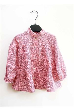 Little girl shirt Jo Milano | 6 | J295FIORI ROSSI