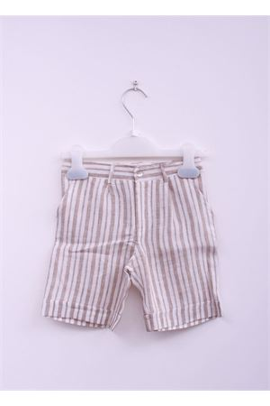 Linen bermuda  for baby boy La Bottega delle Idee | 5 | BERM RIGABEIGE