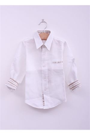 White linen shirt for baby boy La Bottega delle Idee | 6 | CAM RIGABEIGE