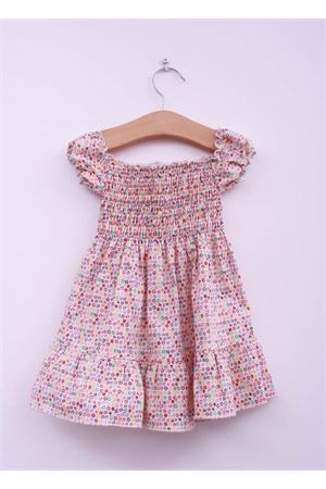 Dress in cotton with flowers pattern La Bottega delle Idee | 5032262 | MULTICOLOR ANNIROSA