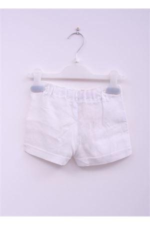 White linen short for baby girl La Bottega delle Idee | 30 | SHORT BIMBABIANCO