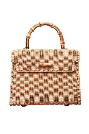 Bamboo handle bag Laboratorio Capri | 31 | 115BISCOTTO
