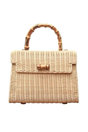 Bamboo handle bag Laboratorio Capri | 31 | 115NATURALE