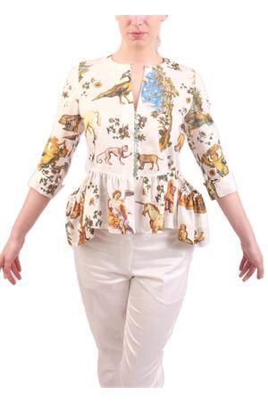 Camicia sartoriale a fantasia con balza Laboratorio Capri | 3 | BALZA1BIANCO