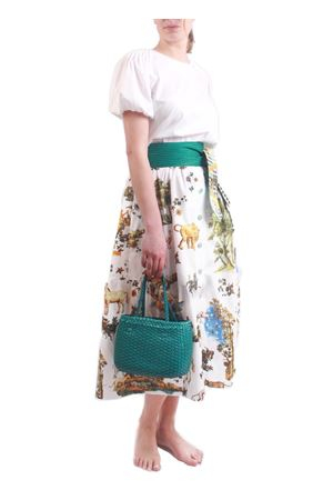 Knee-length skirt with flounces Laboratorio Capri | 15 | BALZABIANCO