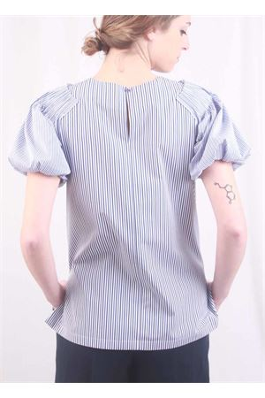 Puff sleeve stripes t-shirt Laboratorio Capri | 8 | NICE1FONDO 4