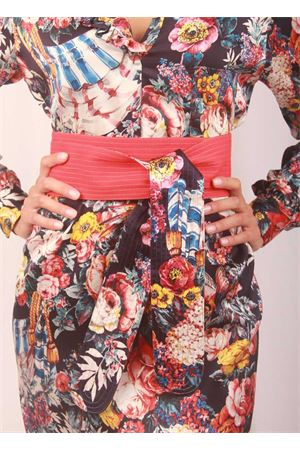 Silk red obi belt  Laboratorio Capri | 22 | OBI SAN MICHELESANDERSON/ROSSO