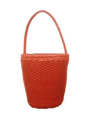 Woven leather bag Laboratorio Capri | 31 | ZANDRIA ART 080ORANGE