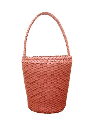 Woven leather bag Laboratorio Capri | 31 | ZANDRIA ART 080PINK