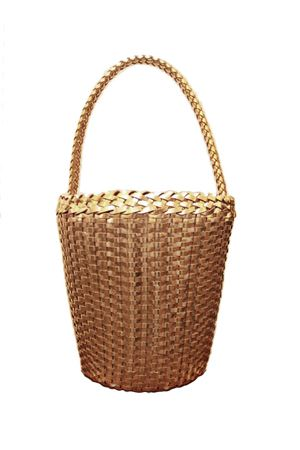 Woven leather bag Laboratorio Capri | 31 | ZANDRIA ART 080PLATINO