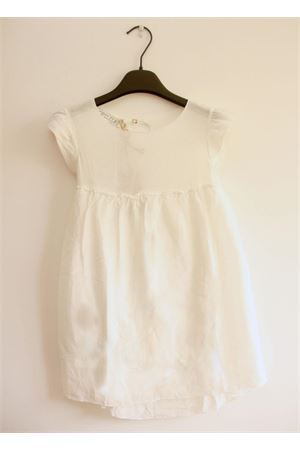 White cotton baby dress Opililai | 5032262 | OPI 103PANNA