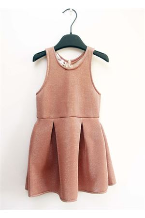 Sleeveless pink dress for little girls Opililai | 5032262 | OPI 155ROSA