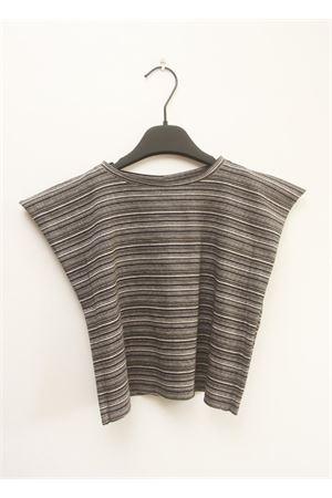 T-shirt per ragazza Orimusi | 8 | ORI 393-2RIGA GRIGIO