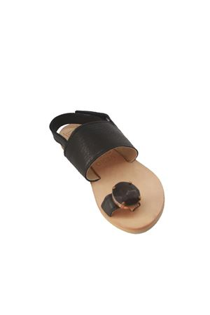 Black leather baby sandals Orimusi | 5032256 | ORI 432NERO