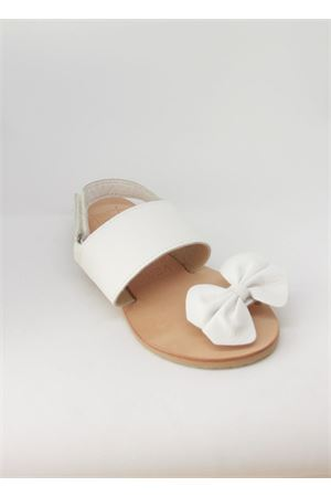 Sandali bianchi da bambina in cuoio Orimusi | 5032256 | ORI 433BIANCO