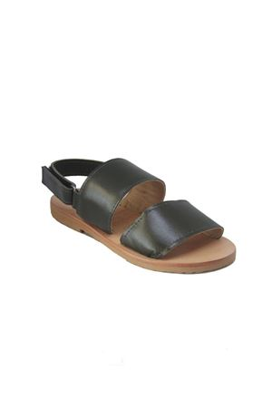 Green leather baby sandals Orimusi | 5032256 | ORI 434VERDE