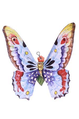 Mattonella decorativa in ceramica farfalla blu Sea Gull Capri | 20000004 | FARFALLA GRANDEBLU