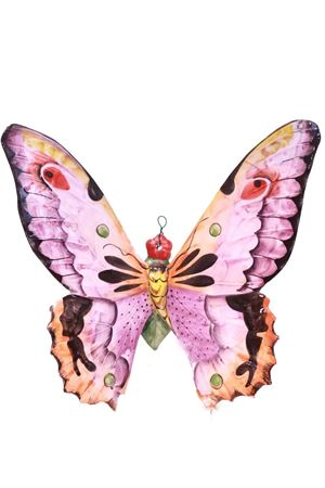 Mattonella decorativa in ceramica farfalla viola Sea Gull Capri | 20000004 | FARFALLA GRANDEVIOLA
