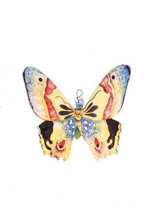 Mattonella decorativa in ceramica farfalla gialla Sea Gull Capri | 20000004 | FARFALLA MEDIAGIALLA