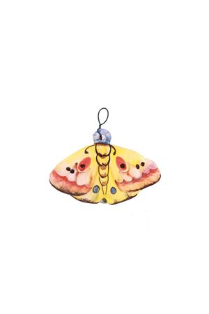 Mattonella decorativa in ceramica farfalla  gialla Sea Gull Capri | 20000004 | FARFALLA MIGNONGIALLO
