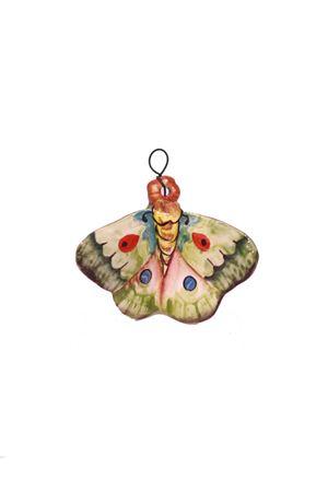 Mattonella decorativa in ceramica farfalla  verde Sea Gull Capri | 20000004 | FARFALLA MIGNONVERDE