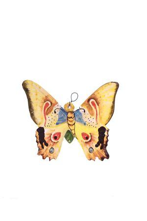 Mattonella decorativa in ceramica farfalla gialla Sea Gull Capri | 20000004 | FARFALLA PICCOLAGIALLO