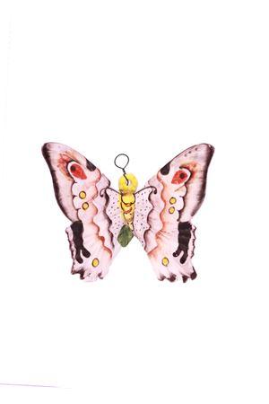 Mattonella decorativa in ceramica farfalla  rosa Sea Gull Capri | 20000004 | FARFALLA PICCOLAROSA