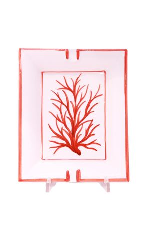 Red coral ashtray in ceramic  Sea Gull Capri | 20000026 | POSACENERE CORALLO GRROSSO