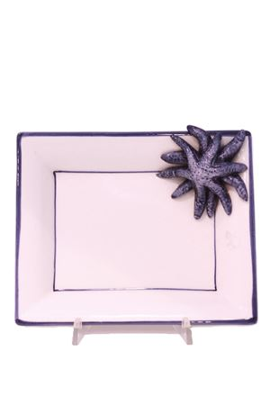 Blue sea stars ceramica ashtray  Sea Gull Capri | 20000026 | POSACENERE STELLA GRBLU