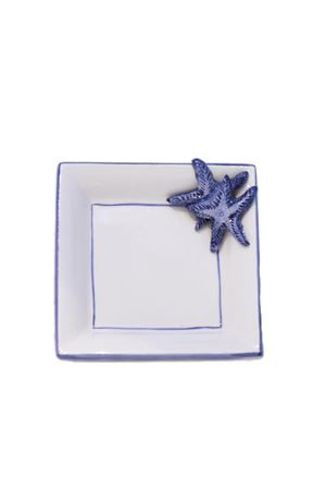 Blue sea stars ashtray in ceramic Sea Gull Capri | 20000026 | POSACENERE STELLA PCBLU